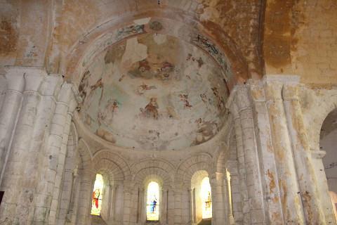Frescos dans l'église
